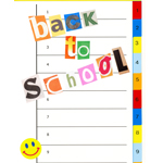 sign saying back to school